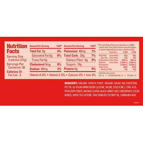 GU Energy Chews Box 18x54g, Strawberry with Caffeine